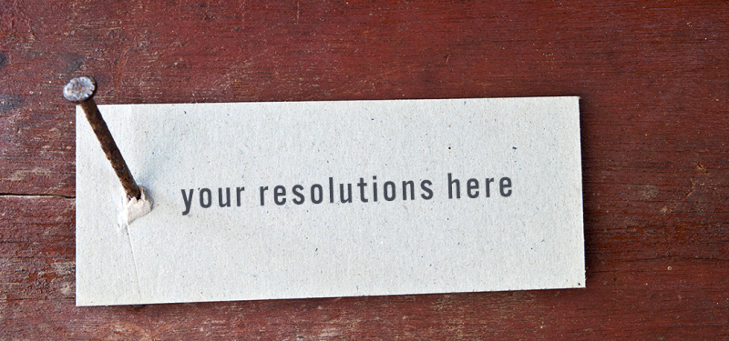 keep your new year's resolutions sustainable and sticky
